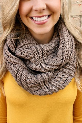 New! Warm Me Up Knit Scarf