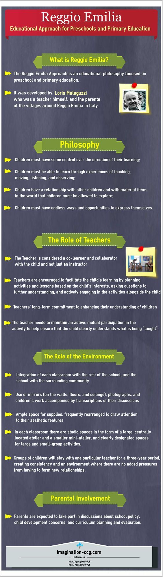Reggio Emilia – Educational Approach for Preschools and Primary Education #Reggio Emilia #Educational Approach for Preschools: