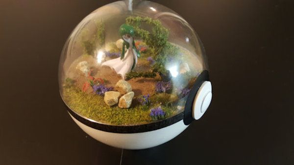 lootanime:    These Pokeball Dioramas from Etsy shop A Violet Accord are AWESOME. Perfect for your desk or shelf! pokemon pokemon diy diy pokemon toys pokemon stuff