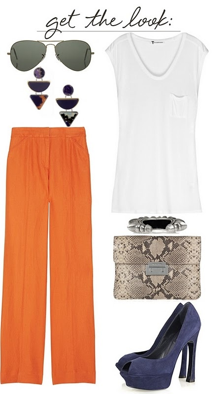 Love love love this simple yet cute outfit! The pants are my fav!