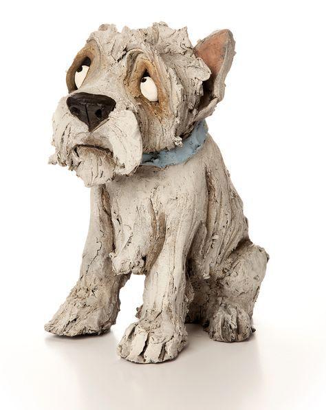 die besten 25 hund skulptur ideen auf pinterest lehm gesichter ton prise t pfe und. Black Bedroom Furniture Sets. Home Design Ideas