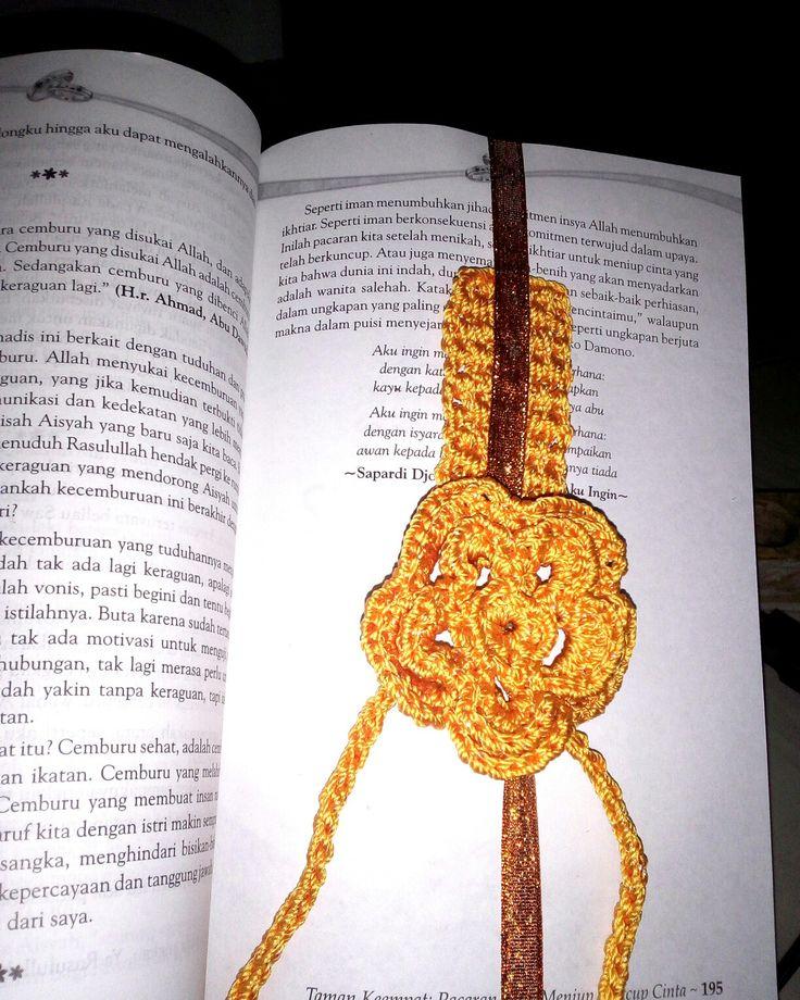 Pembatas buku @crochet #indramayu #indonesia