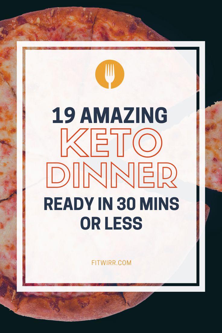 19 kohlenhydratarme Keto-Abendessen 30-minütige Rezepte zum Abnehmen und zur …   – Keto Diet