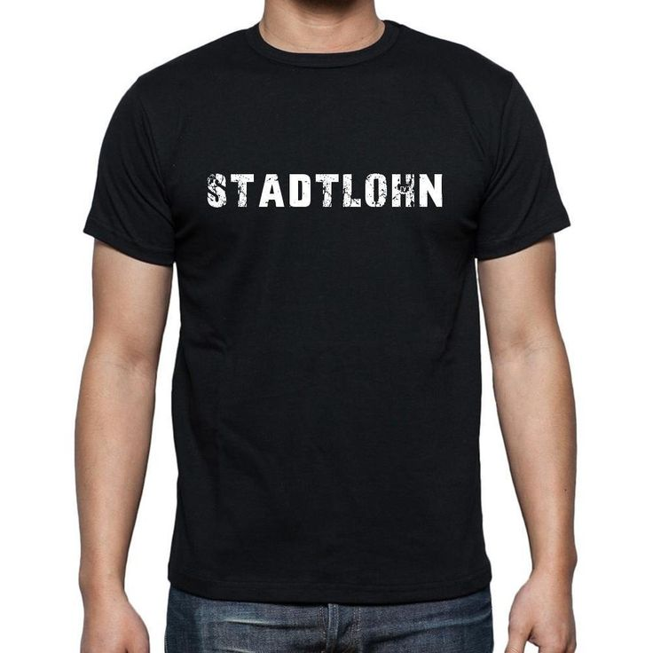 stadtlohn, Men's Short Sleeve Rounded Neck T-shirt