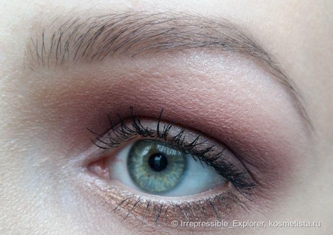 Berries on the gold: нежный макияж для зелёных глаз