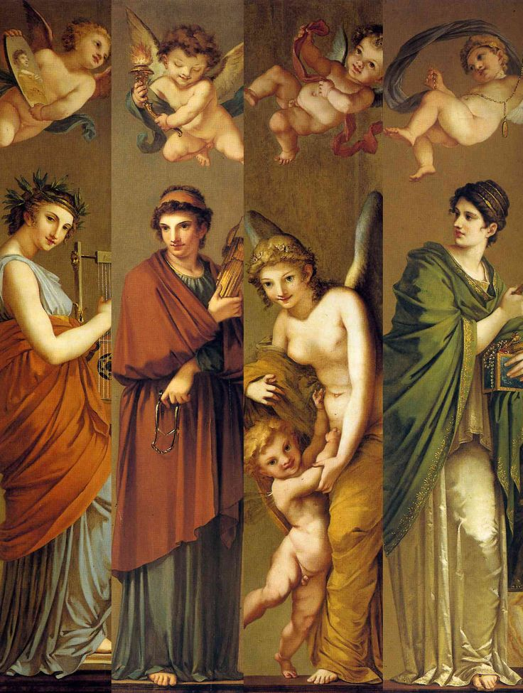 Arts, Philosophy, Pleasure and Wealth (c.1800) Pierre-Paul Prud'hon