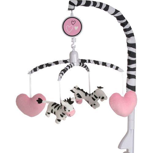 I Luv Zebra Crib Bedding by Baby Boom - bedtimebaby.com - Love the Zebra stripes!