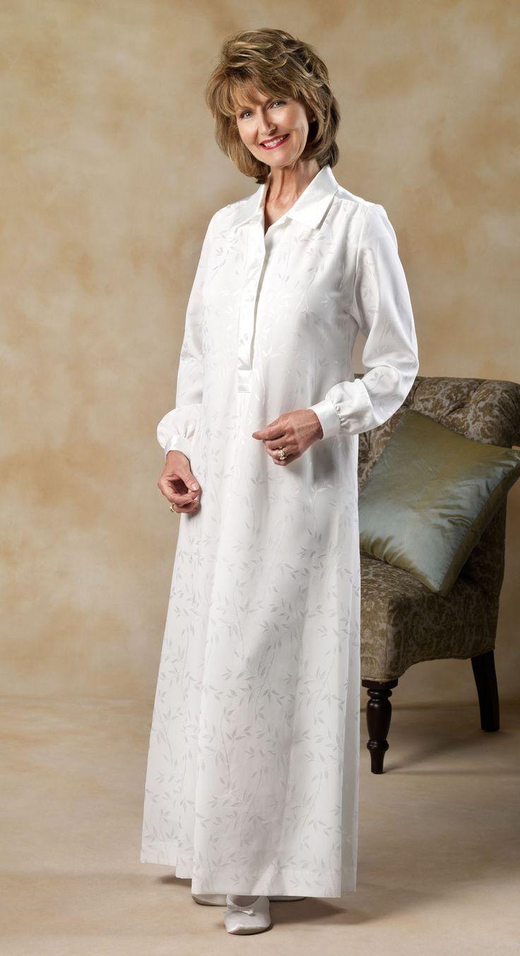 2037 - RhapsodyTemples Clothing, White Elegant, Church, Temples Dresses, Lds Temples, Labs Coats,  Laboratory Coats, Temples Robe, Rhapsody 2037