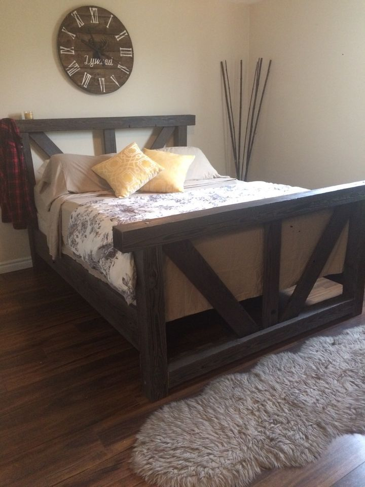 Best 25 Rustic Bed Frames Ideas On Pinterest Diy Bed