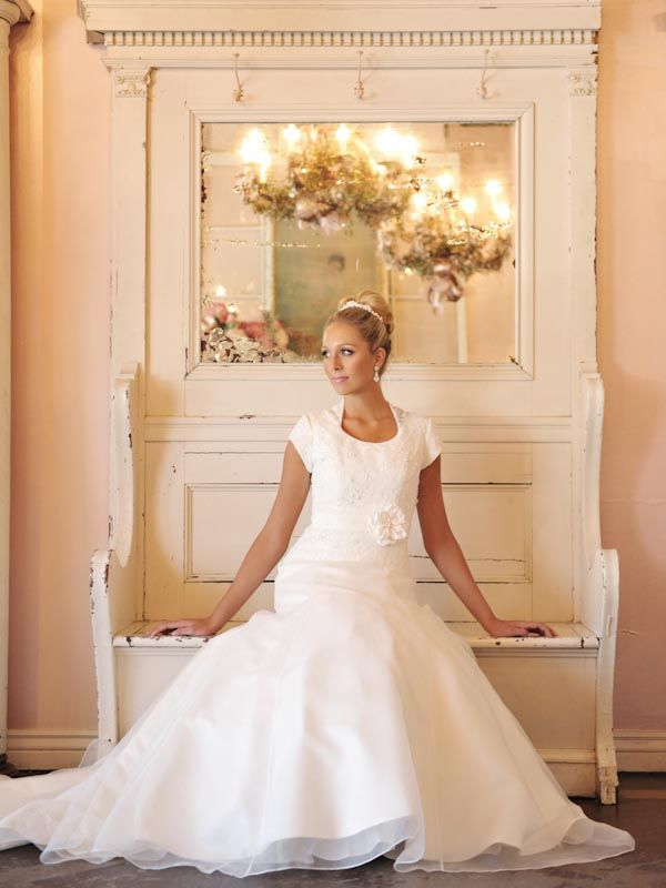 The Lincoln Bridal Gown With A Shabby Chic Setting