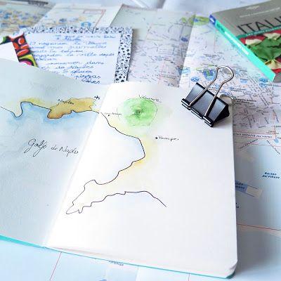 """CaroLigne...: """"Voir Naples et revenir"""" Carnet de voyageVous conn..."""