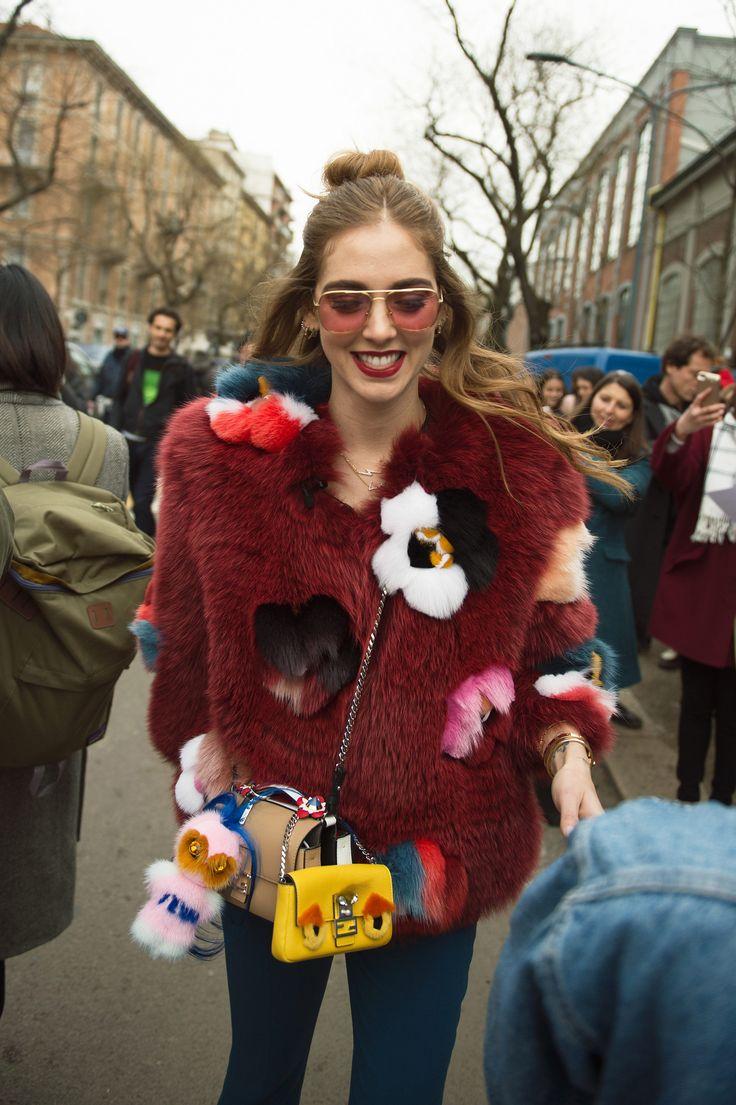 See All the Best Street Style from Milan Fashion Week: Chiara Ferragni