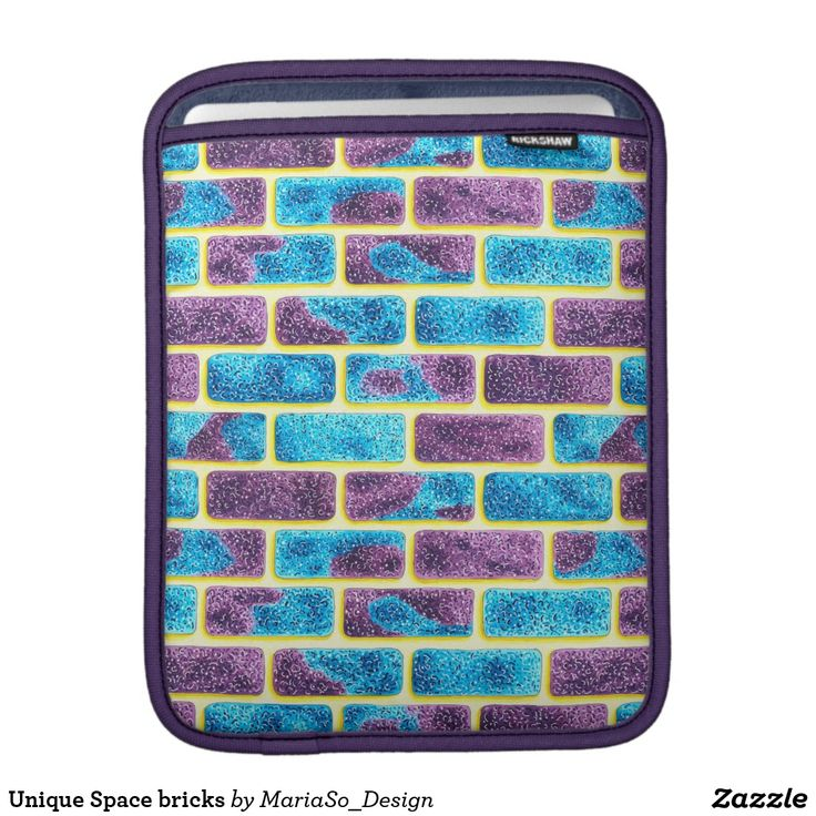 Unique Space bricks Sleeve For iPads