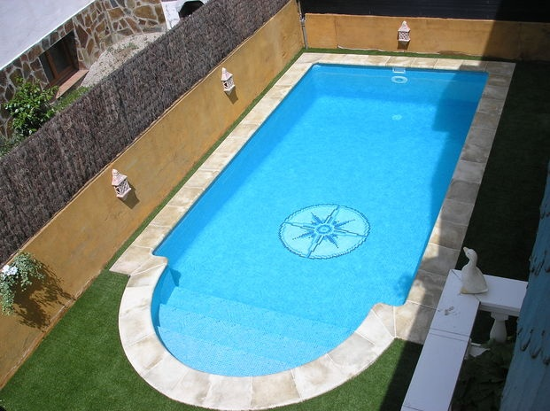piscina 6x3 esc rom rectangular piscinas pinterest