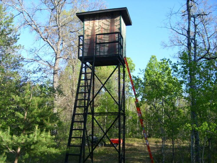 Awesome deer stand!