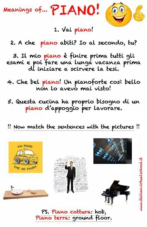 Polisemia - piano