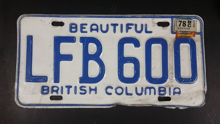 1978 Beautiful British Columbia White with Blue Letters Vehicle License Plate LFB 600 https://treasurevalleyantiques.com/products/1978-beautiful-british-columbia-white-with-blue-letters-vehicle-license-plate-lfb-600 #Vintage #1970s #70s #Seventies #BeautifulBC #BritishColumbia #Canada #Canadian #LicensePlates #Vehicles #Autos #Automobilia #Mancave #SheShed #Garage #Collectibles #Cars