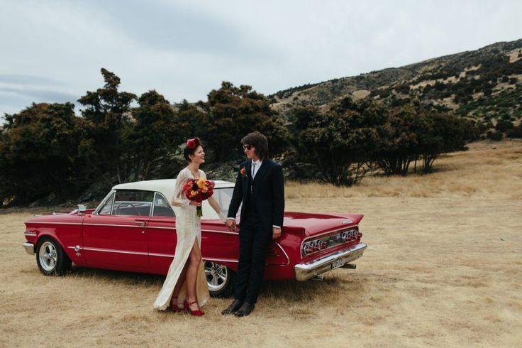 REAL WEDDING: Lauren + John - Criffel Station Woolshed - WedShed