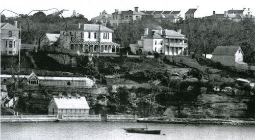 Potts Point ,Darlinghurst ,Sydney Australia , Victorian Mansions .The 1st Exclusive Suburb..