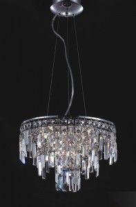 Lavenda lampa wisząca 10-punktowa MD92915-10A