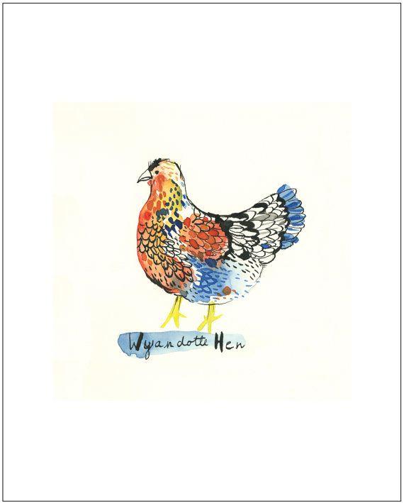 Essay on bird hen
