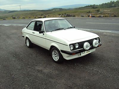Ford Escort RS 2000 1977. Maintenance of old vehicles: the material for new cogs/casters/gears could be cast polyamide which I (Cast polyamide) can produce