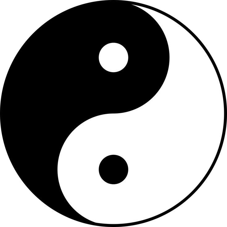 Yin és Yang: taoista jelkép, a kettősségén alapuló világszemlélet, mint fény-árnyék, jó-rossz, nő-férfi, stb. Megvilágítja a bennünk magunkban rejlő ellentéteket, s lehetővé teszi, hogy összhangba kerüljön a körülöttünk áramló, hullámzó erőkkel, sőt, bizonyos mértékig uralmat is nyerjünk felettük.
