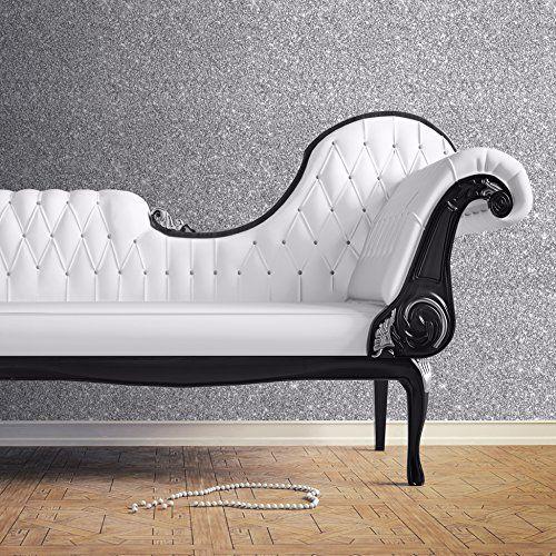 Muriva Silver Sparkle Glitter Effect Textured Wallpaper 701352 Muriva  Http://www.amazon