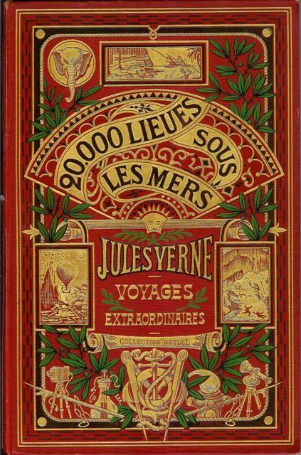 BOEK (Frans) ♦ 20.000 Lieues sous Les Mers / Jules Verne ♦ Bib Bornem - jongerenhoek, Franstalige versie ► link naar online versie