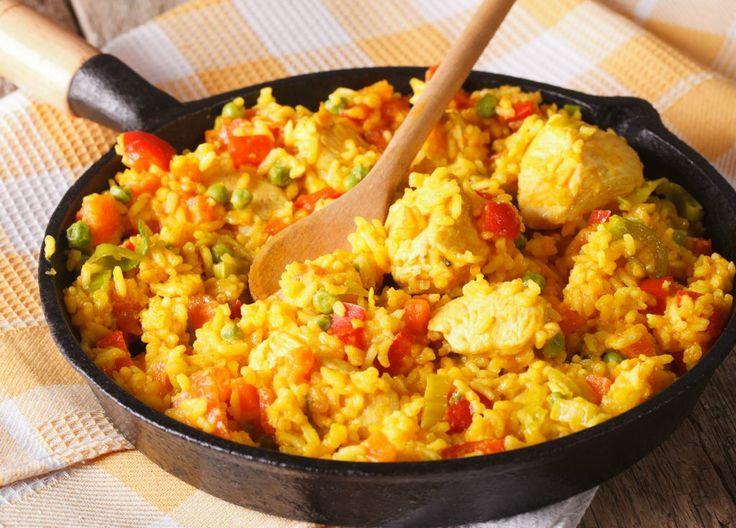Orez cu pui în stil latino | Retete culinare - Romanesti si din Bucataria internationala