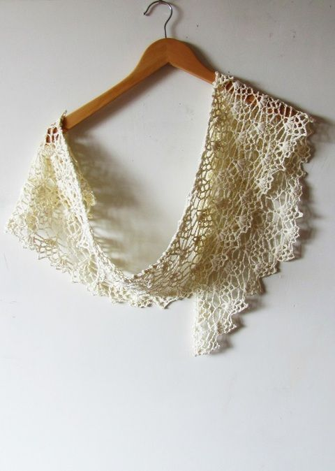 BLOOMY PINEAPPLE (CROCHET) Easy and quick one-skein project. Mix of pineapple lace and puffs creates soft textured fabric, that feels like a small flowery cloud on the shoulders.  Scarf could be easily expanded to a triangular shawl, just keep working the pattern till you reach the desired length. $5.00 on Patternfish Pattern has written step-by-step instructions and chart. Also I give clear explanations for special stitches used.
