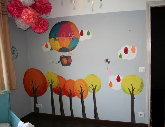 fresque chambre fille dtail fresque murale chambre fille with fresque chambre fille top with. Black Bedroom Furniture Sets. Home Design Ideas
