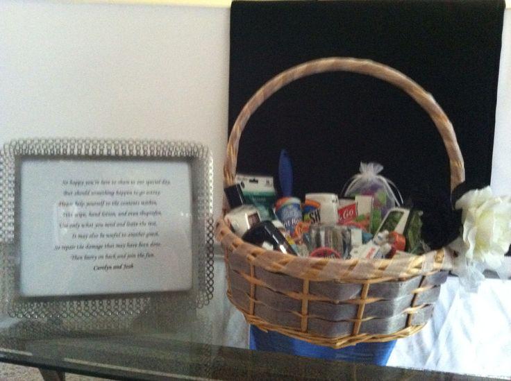 Best 25 Wedding Toiletry Basket Ideas On Pinterest Wedding Bathroom Decorations Wedding