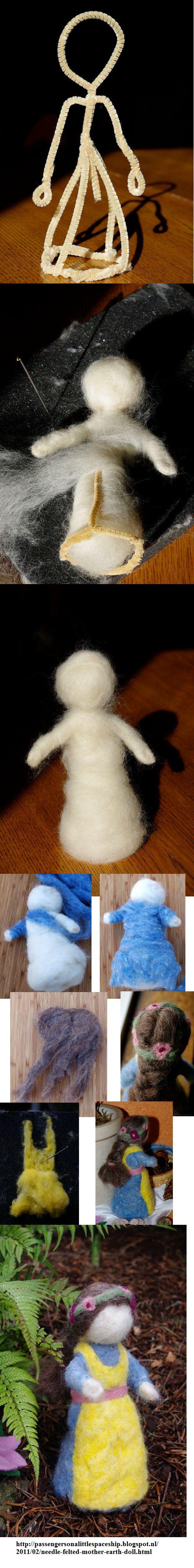 Armado muñecas