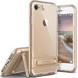 Coque iPhone 7 VRS Design [Crystal Bumper][Or] - [Transparente étui][Housse de Protection][Kickstand][Anti Scratch Case][Anti Chocs][Military Grade] Pour Apple iPhone 7