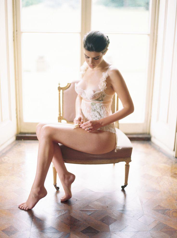 Bridal Lingerie - Designed by Lily & Sage - Old World Elegance | Lily & Sage | Luxury Wedding Planning & Styling