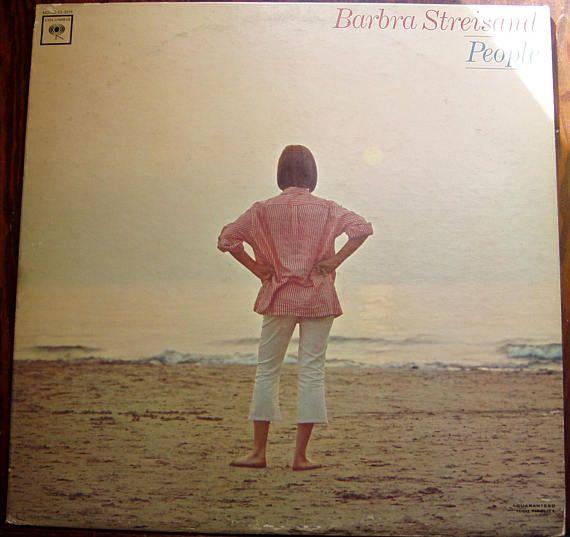 People Barbara Streisand LP Record Album 1964
