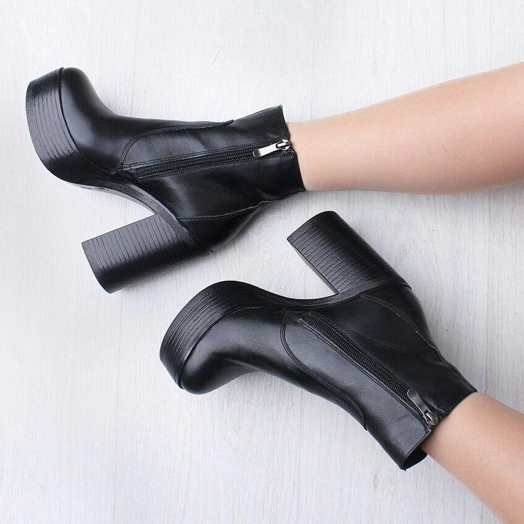 11 отметок «Нравится», 3 комментариев — Кожаная обувь и сумки. (@shoeparadise_catalog) в Instagram: «Кожаные ботинки подойдут на ногу с узкой и средней полнотой. Обратите внимание, модель маломерит,…»