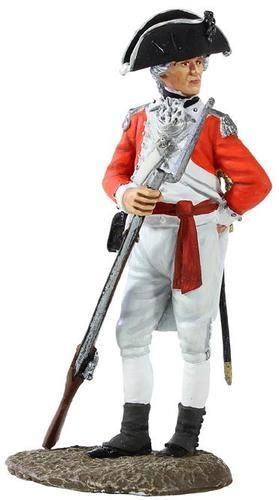 W Britain Jack Tars & Leathernecks 13000 British Marine Officer, 1780