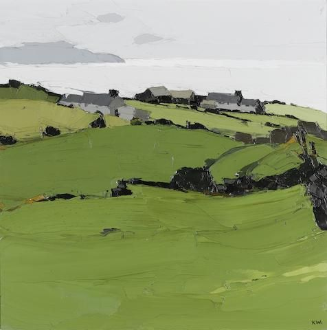 Rhoscryman, Sir Kyffin Williams, oil on canvas