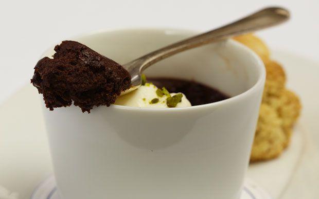 A seductive Irish stout chocolate mousse, from chef Richard Corrigan.