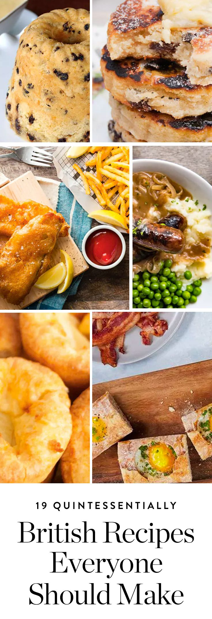 Here are 19 classic British recipes you should absolutely make. #britishrecipes #recipes #englishbreakfast #recipes