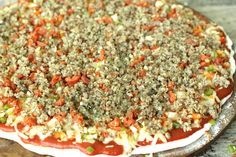 How to recreate Pizza King pizza at home! If you're from Central Indiana you know how important this discovery is!