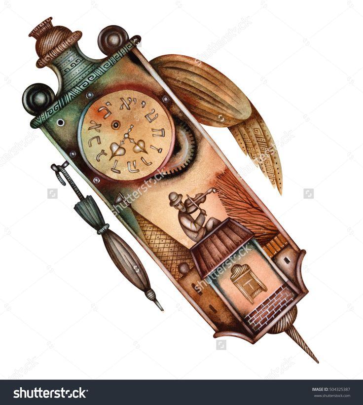 Antique Clock by Eugene Ivanov. #eugeneivanov #klezmer #musician #jewish #jew #@eugene_1_ivanov