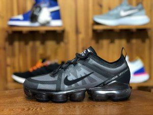 brand new b826b 3ec1a Mens Nike Air VaporMax 2019 Dark gray AR6631 004 Running Shoes