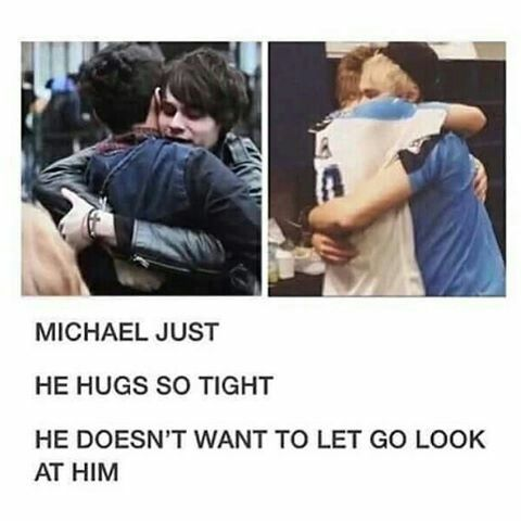 I want a Mikey's hug right now