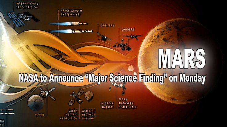 "MARS: NASA to Announce ""Major Science Finding"" on Monday - Elon Musk, Ma..."