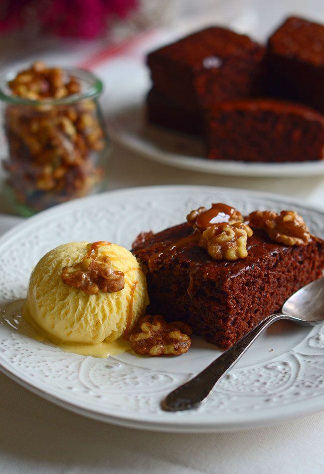 Ciasto czekoladowe łyżką mieszane w formie i w pół godziny gotowe