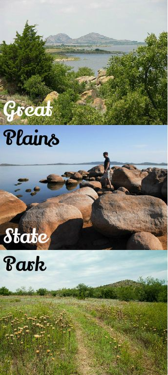 Great Plains State Park is located in southwestern Oklahoma and is a great place for rock climbing. It is also home to Tom Steed Lake, which has 31 miles of shoreline and plenty of room of boating.