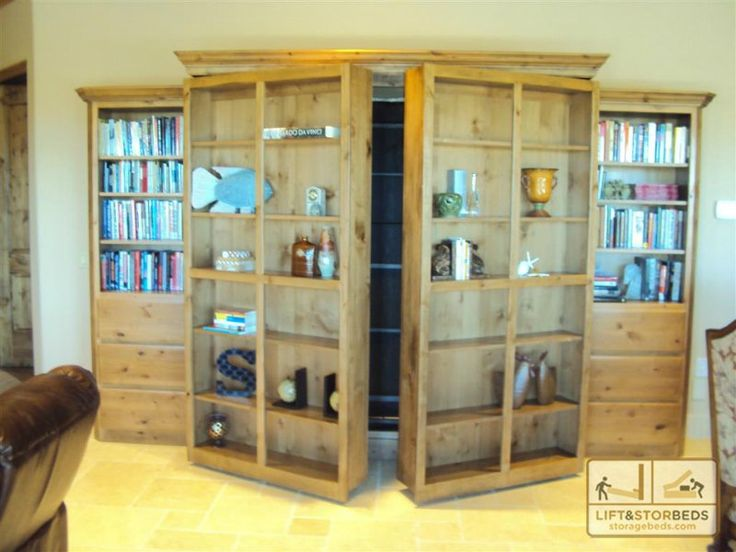 Library Wall Beds: Twice as Smart as Your Average Bed!  Library Wall Beds: Twice…